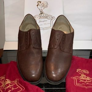 Duckie Brown laceless oxfords + box and dust bags